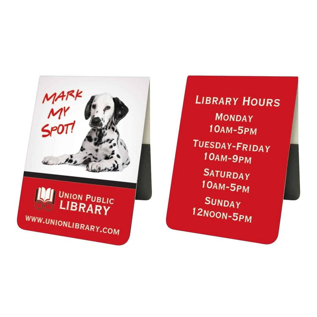 Mini Magnetic Bookmark - Printed Products