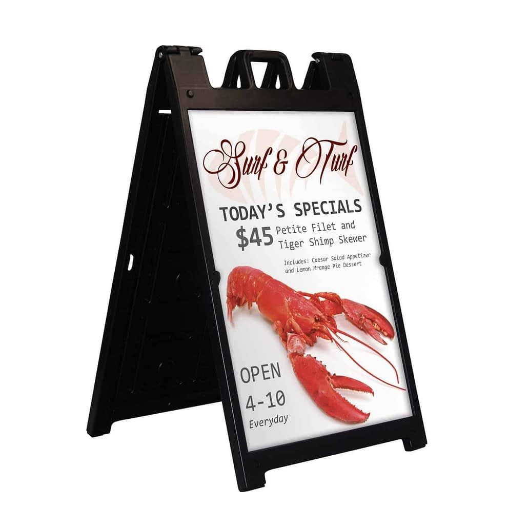 Corrugated Signs - printed Products