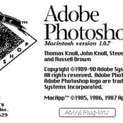 the origin of Photoshop