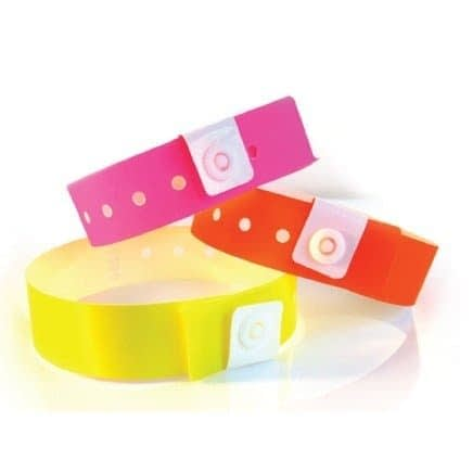 1 Ply Plastic Event Wristband - Promotional Products