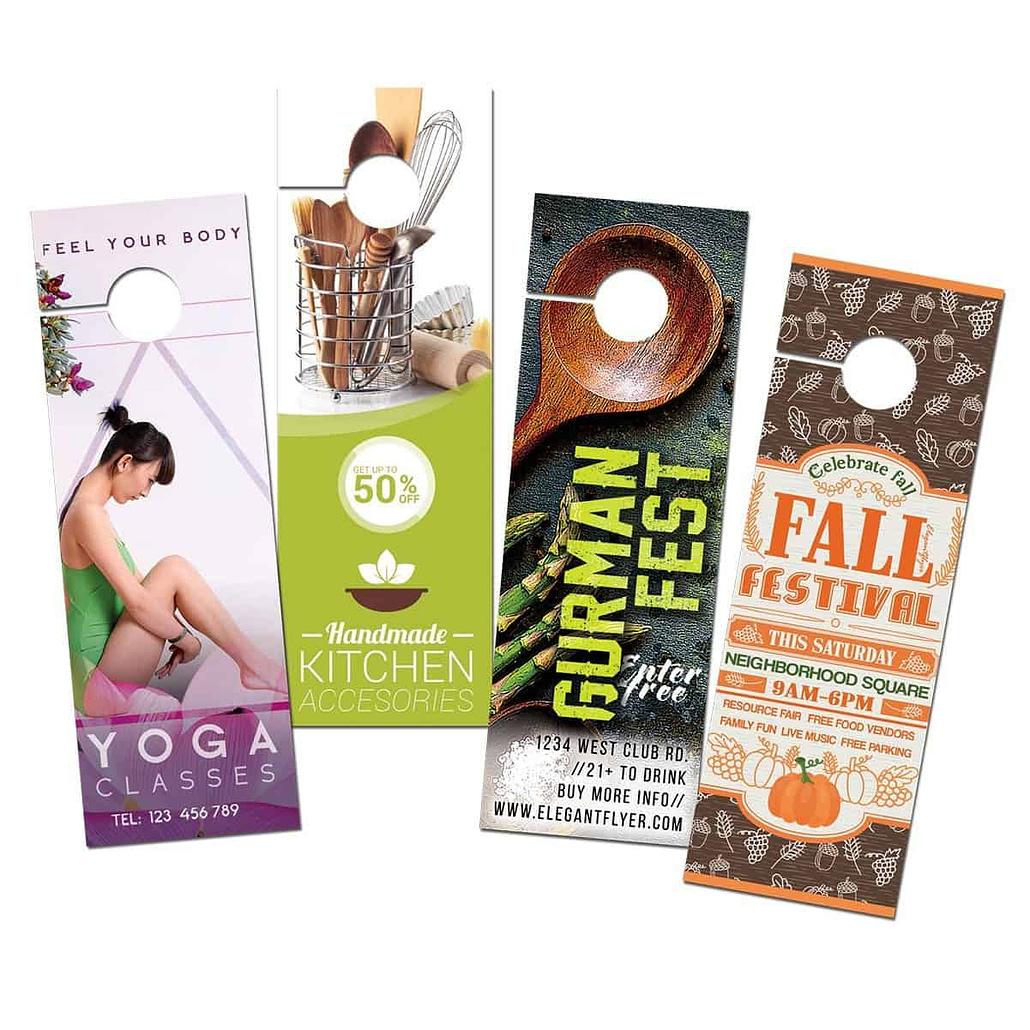 Custom Door Hanger - Printed Products