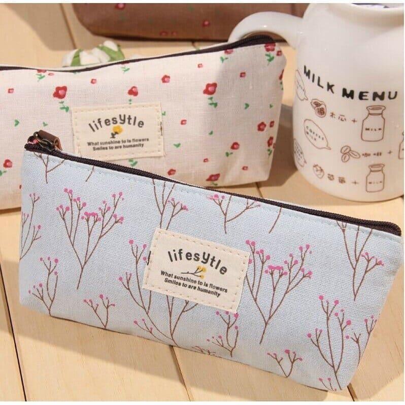 Canvas Pencil Bag print products