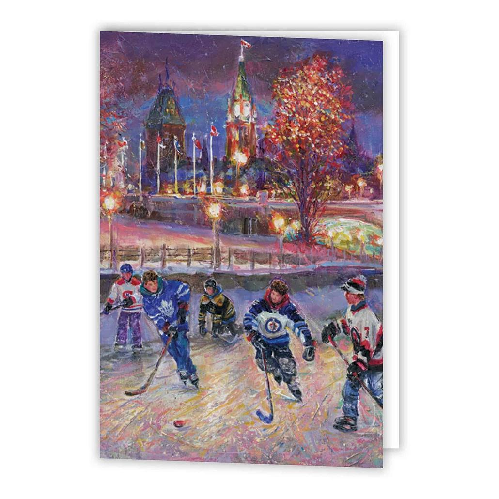 Ottawa Night Warmup Holiday Card - Printed Products