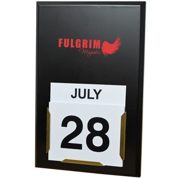Daily Date Wall Calendar Board - Printed Products