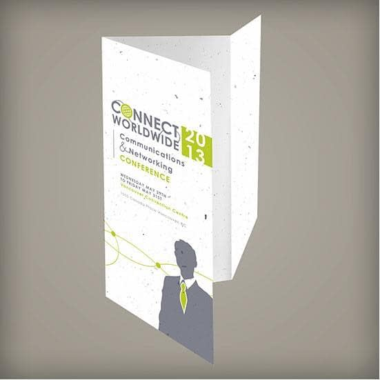 Tri-Fold Seed Paper Brochure, 1-Sided - Printed Products