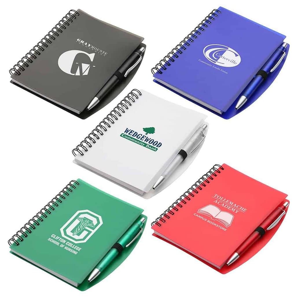 Hardcover Notebook & Pen Set - Printed Products