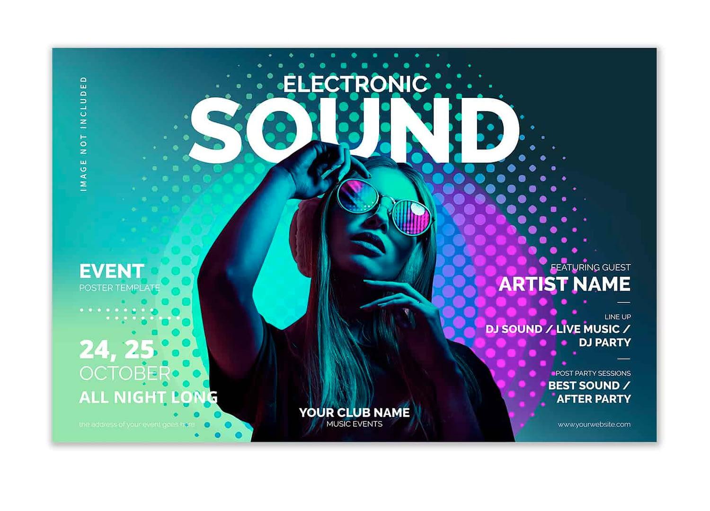 Club poster printing sample 003