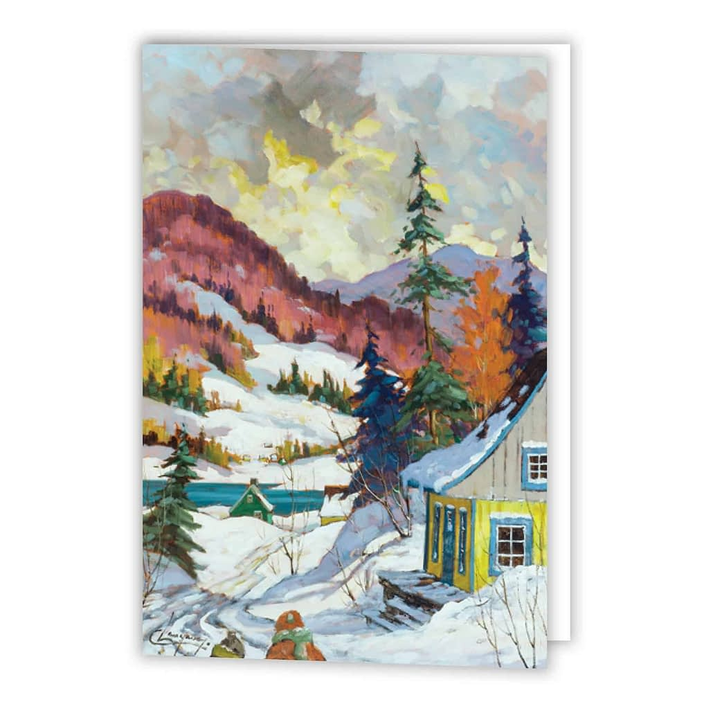 The Saguenay Fjord Holiday Card - Printed Products