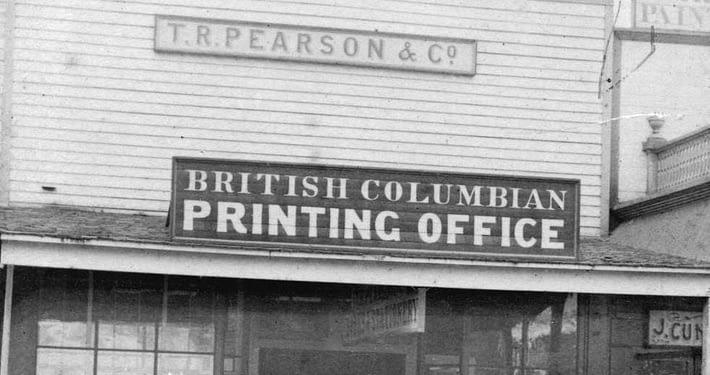 Pioneers of Vancouver Print