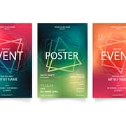 Event poster printing sample 001