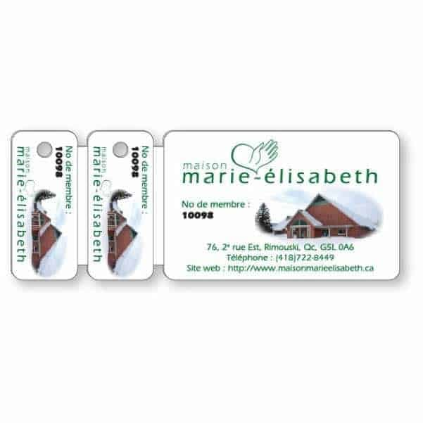 Premium Wallet Card & 2 Key Tag Combo - Printed Products