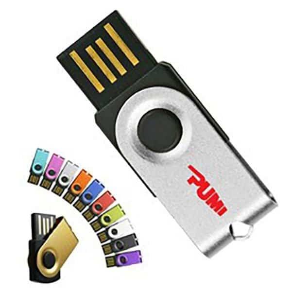 Mini Swivel Micro USB Drive 1GB