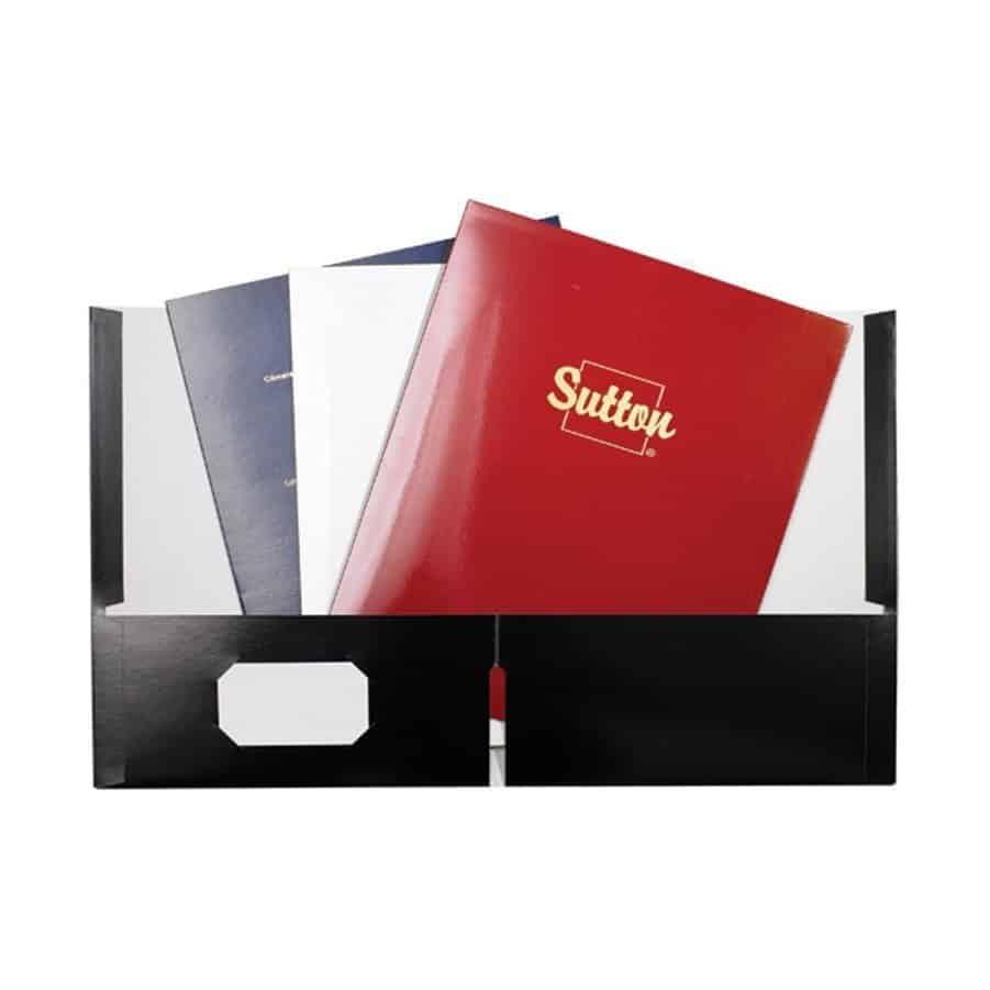 Printed Presentation Folder