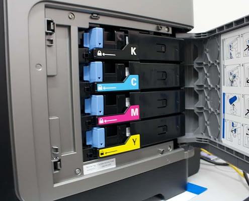 Printing Shop Photo of Printing Cartridge